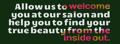 welcome to our salon in christiansburg va